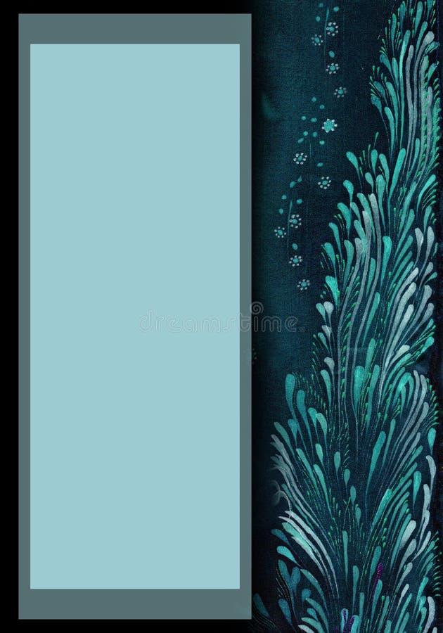 Testes padrões na seda, nas linhas, nos cursos e nos pontos Composição decorativa Teste padrão 08 Use materiais impressos, sinais ilustração do vetor