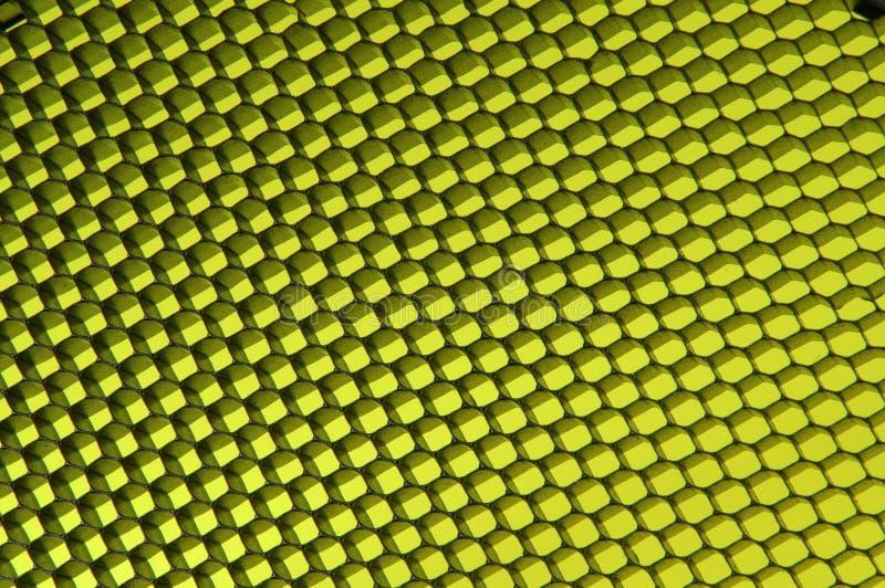 Testes padrões pretos amarelos fotos de stock royalty free