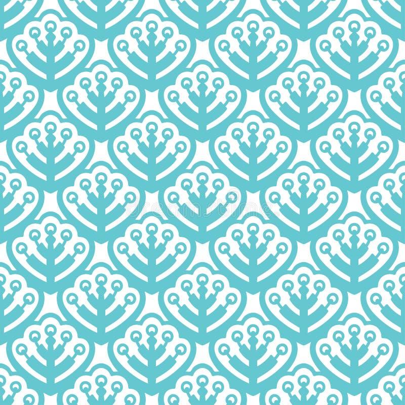 Testes padrões sem emenda da cor pastel com folhas ilustração royalty free