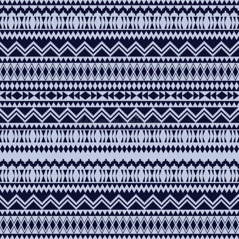 Testes padr?es sem emenda ?tnicos Fundos geom?tricos astecas Tela ? moda do navajo Textura tribal do fundo Papel de parede abstra ilustração do vetor