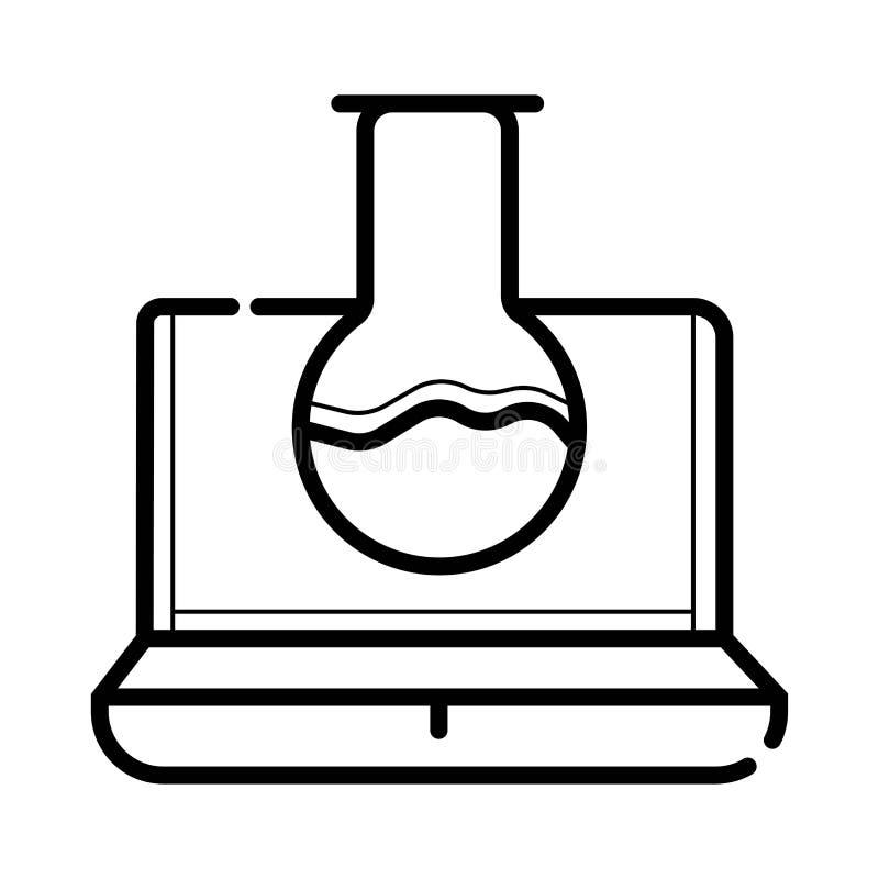 Testing system icon. Vector illustration vector illustration