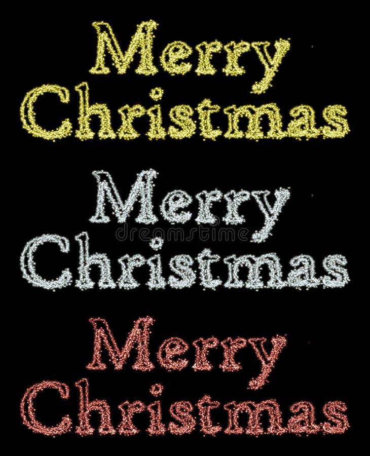 Download Testo di Buon Natale illustrazione di stock. Illustrazione di pubblicità - 56876844
