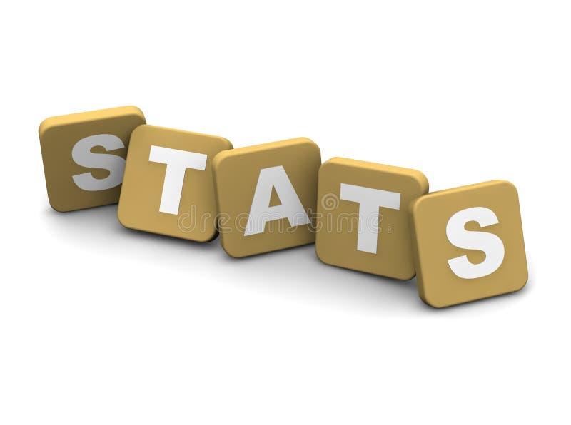 Testo di Stats royalty illustrazione gratis