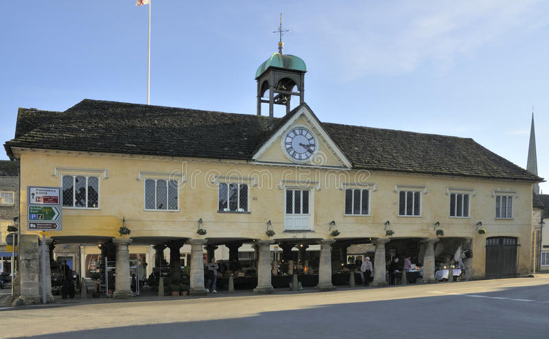 Tetbury Rathaus stockfotos