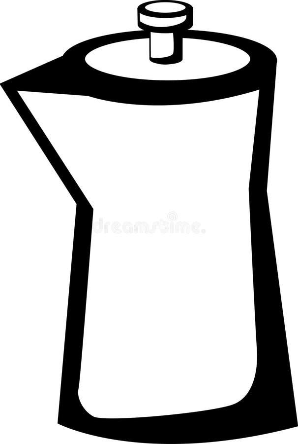 Tetera ilustración del vector