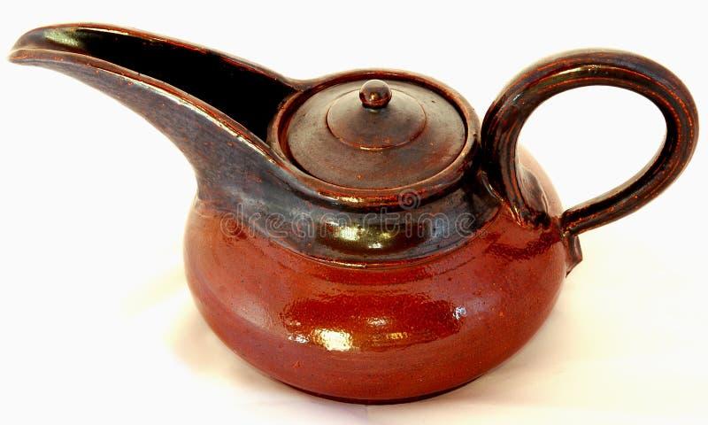 Tetera de cerámica foto de archivo
