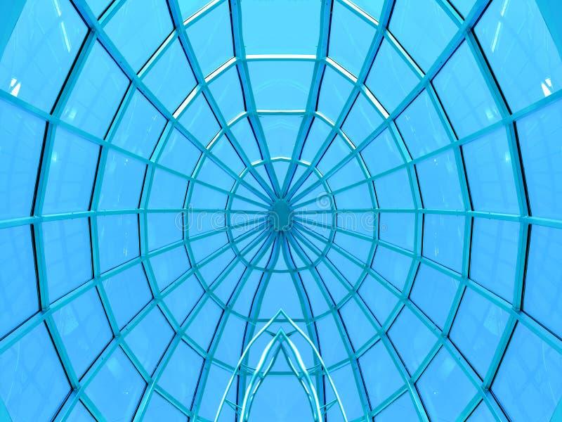 Teto circular simétrico fotos de stock