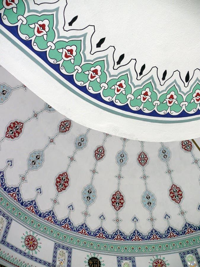 Teto da mesquita fotos de stock royalty free