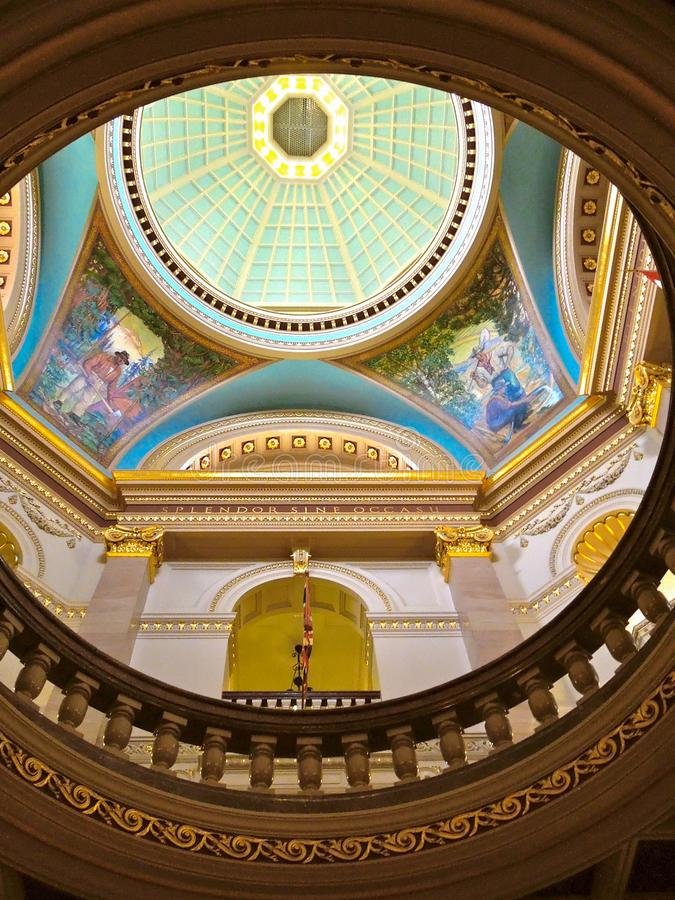 Teto de Victoria Canada Parliament Building fotos de stock