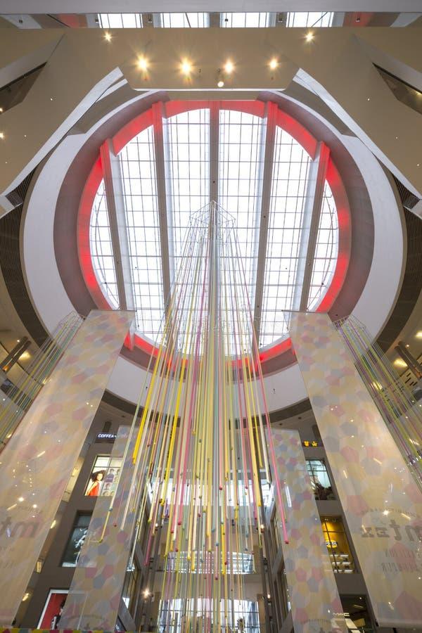 Teto do shopping de Pavillion imagem de stock royalty free