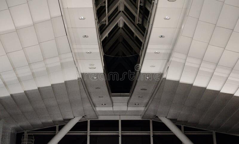 Teto no aeroporto 1 de Haneda imagem de stock