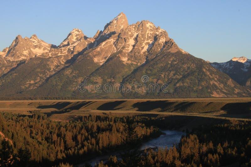 Teton grande foto de stock royalty free