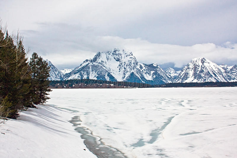 Teton Nationalpark lizenzfreie stockfotografie