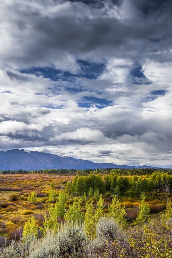 Download Teton Panorama stock photo. Image of color, nature, lodge - 36206630