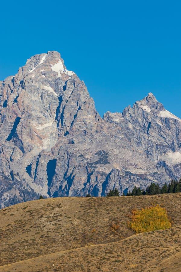 Teton scénique en automne image libre de droits
