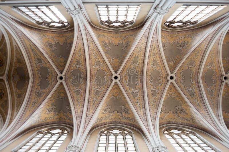 Tetos de Mary Cathedral da Virgem Santa de Radom foto de stock royalty free