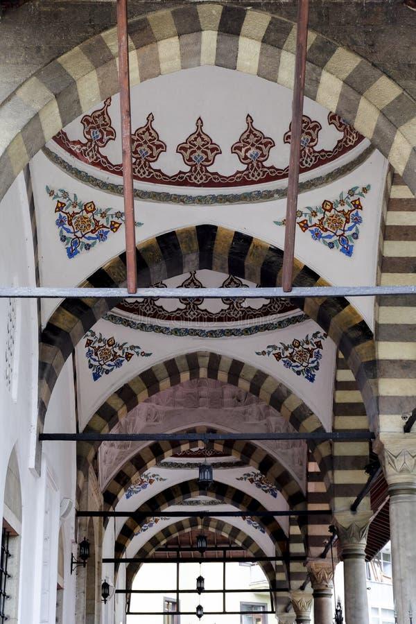 Tetos fora de uma mesquita fotografia de stock royalty free