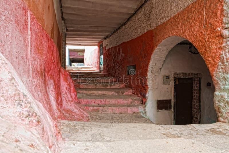 Tetouan medina stock photography
