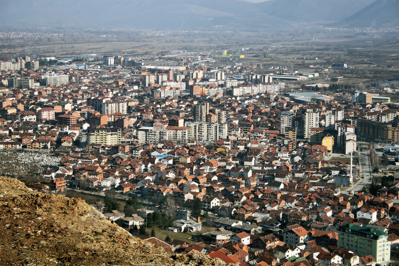 Tetovo, Macedonië stock foto