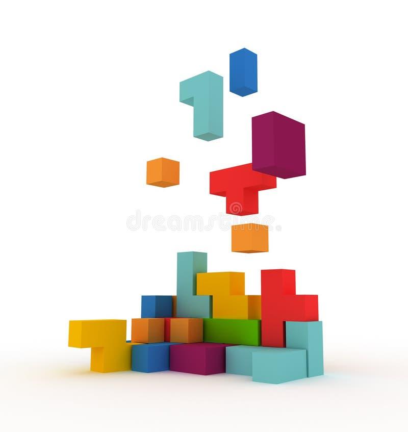 Free Tetris Blocks Stock Photo - 13872480
