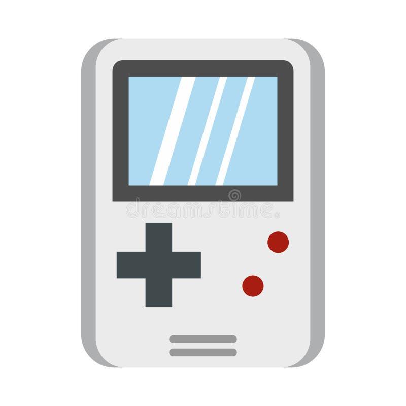 Tetris para o ícone dos jogos, estilo liso ilustração do vetor