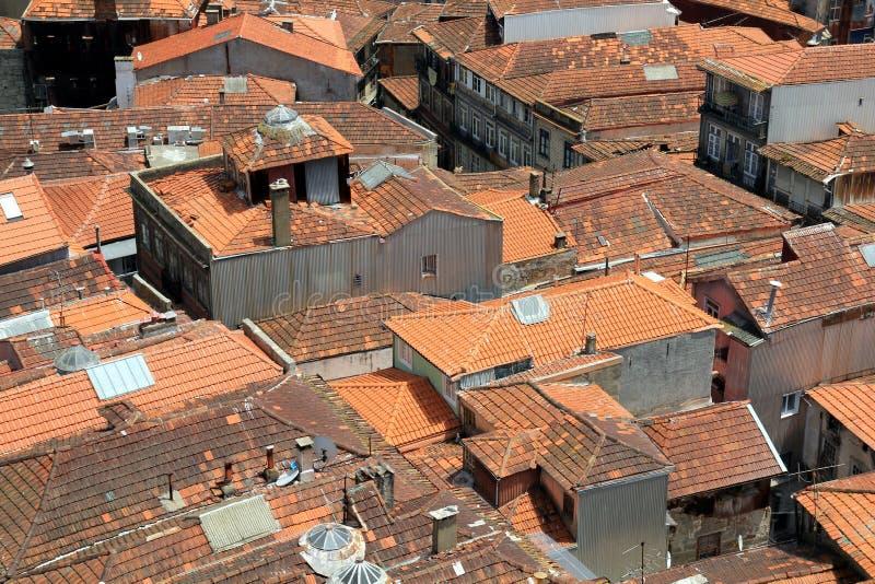 Tetti a Oporto, Portogallo immagini stock