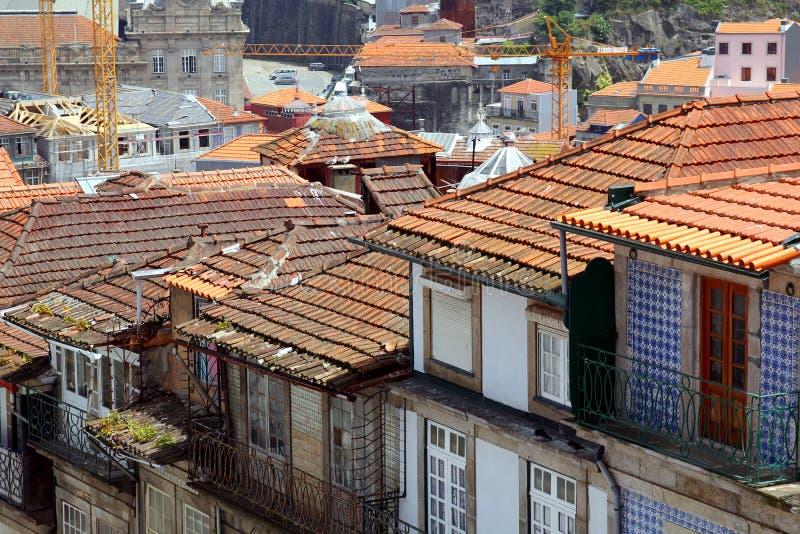 Tetti a Oporto, Portogallo immagine stock
