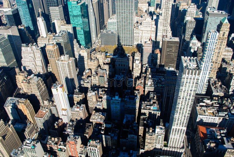 Tetti sopra Manhattan, New York fotografia stock libera da diritti