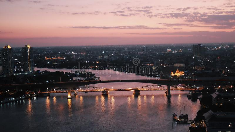 tetto Bangkok immagini stock