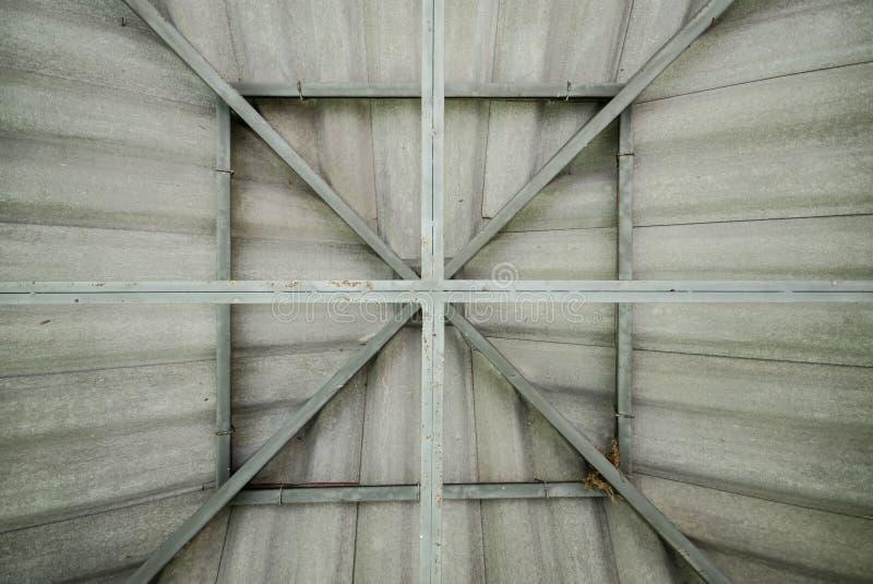 Tetto dell'acciaio per costruzioni edili immagine stock