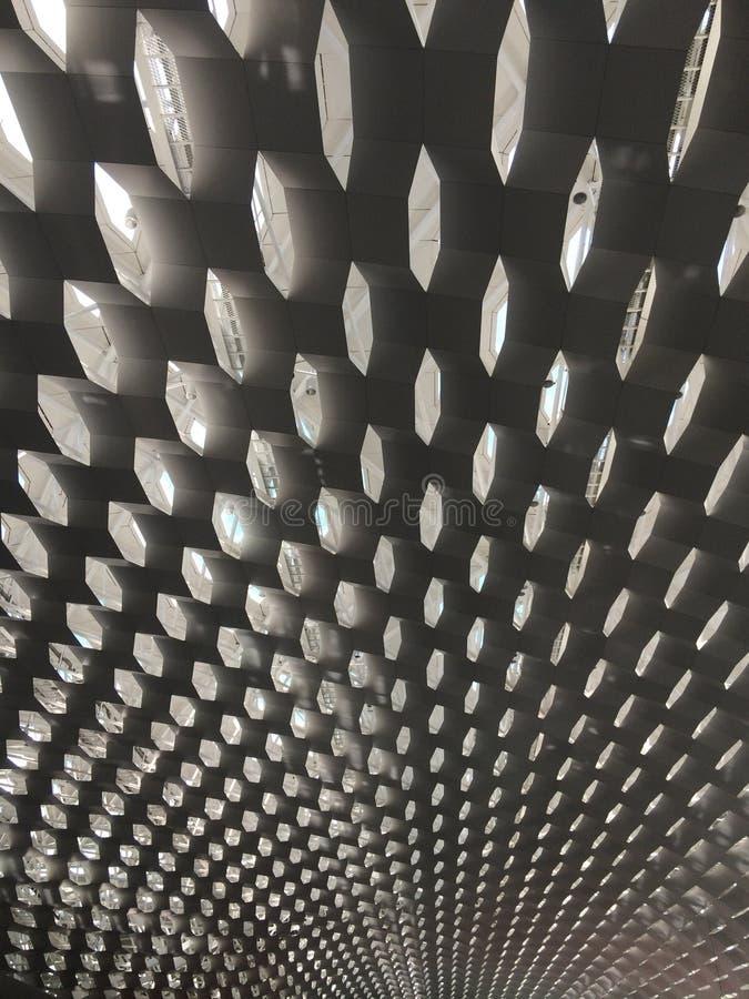 Tetto dell'aeroporto di Shenzhen immagini stock