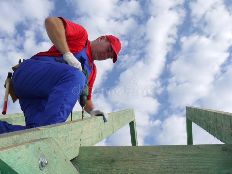 tetto della costruzione immagine stock libera da diritti