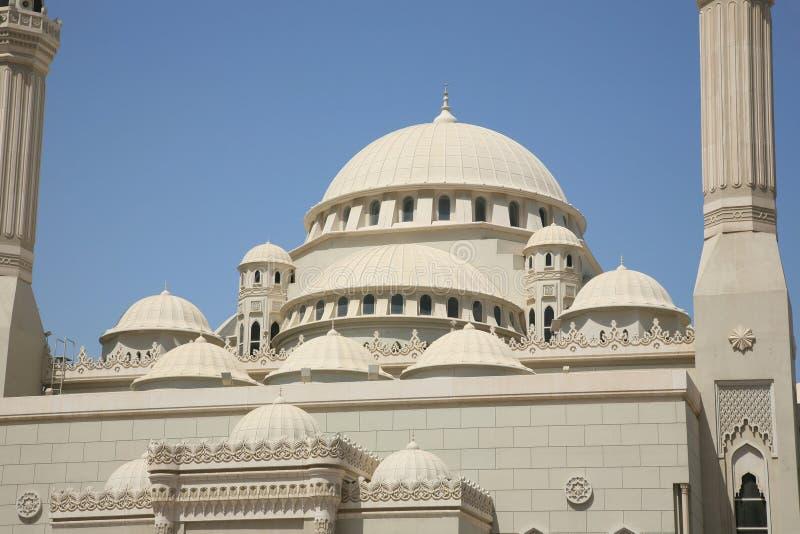 Tetto della costruzione della moschea immagine stock libera da diritti