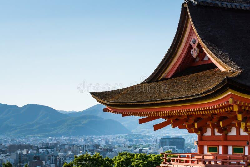 Tetto della cultura del Giappone fotografia stock libera da diritti
