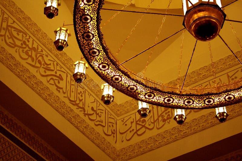 Tetto della moschea immagine stock