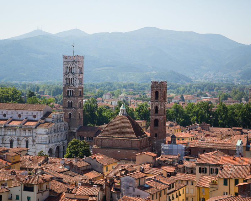 Tetto della Toscana fotografie stock libere da diritti
