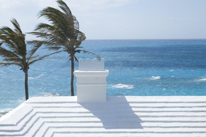Tetto delle Bermude - tradizionale immagini stock libere da diritti