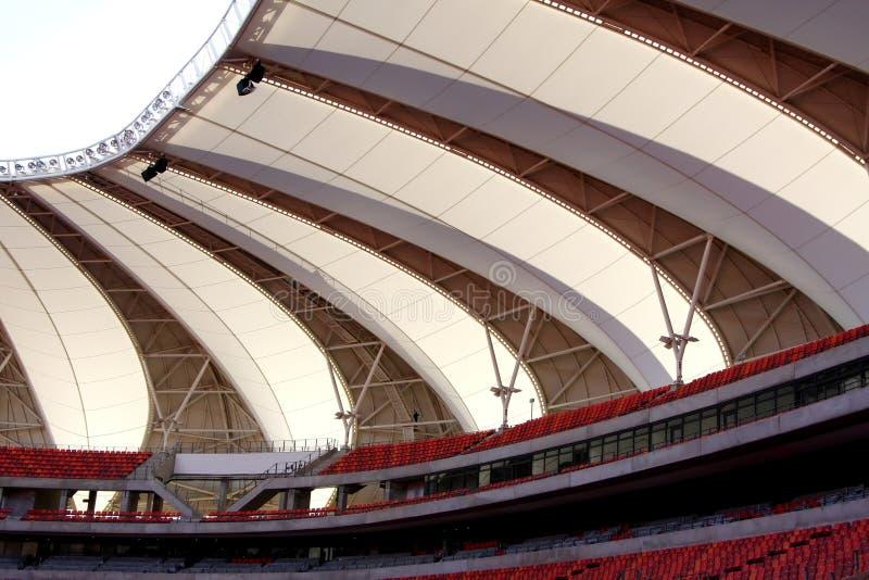 Tetto dello stadio di sport fotografie stock libere da diritti