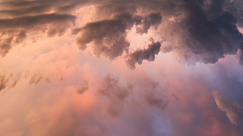 Tetto di cielo fotografia stock