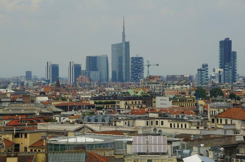 Tetto di Milano fotografia stock libera da diritti
