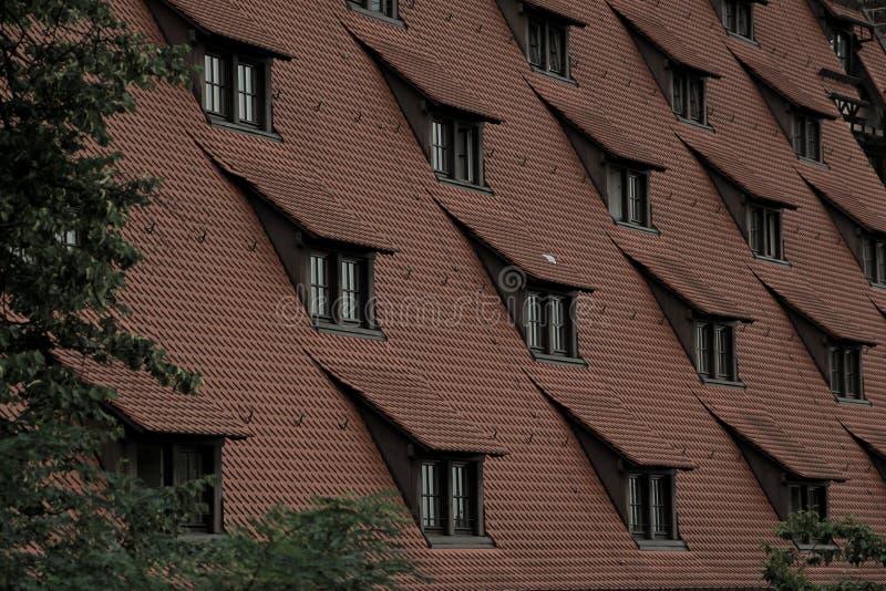 Tetto di Norimberga immagine stock libera da diritti