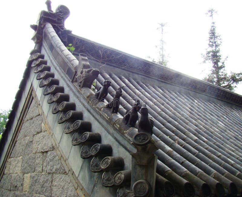 Tetto tradizionale cinese fotografia stock