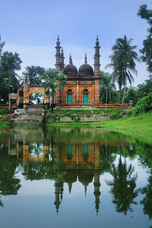 Tetulia Jame Masjid lizenzfreies stockfoto