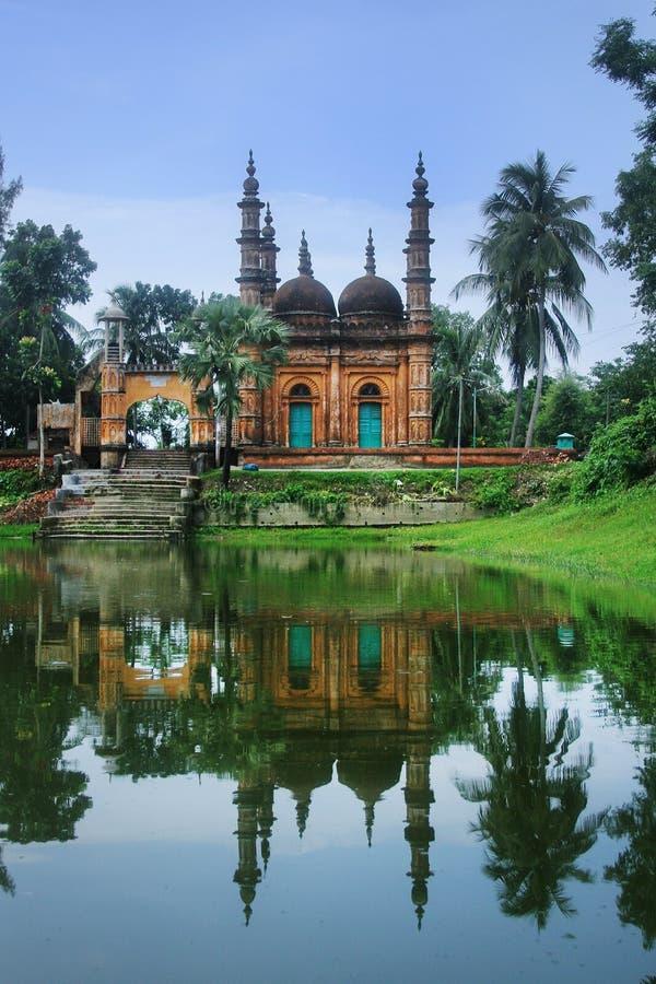 Tetulia Jame Masjid royalty-vrije stock foto