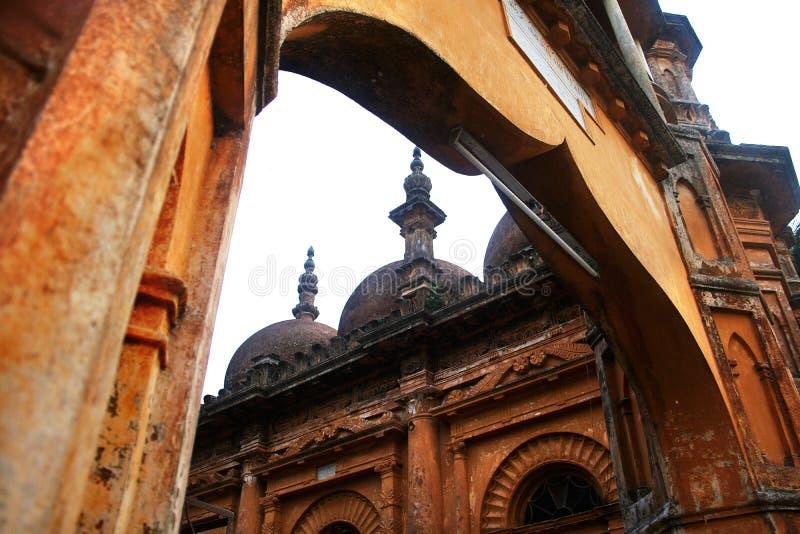 Tetulia Jame Masjid stock afbeeldingen