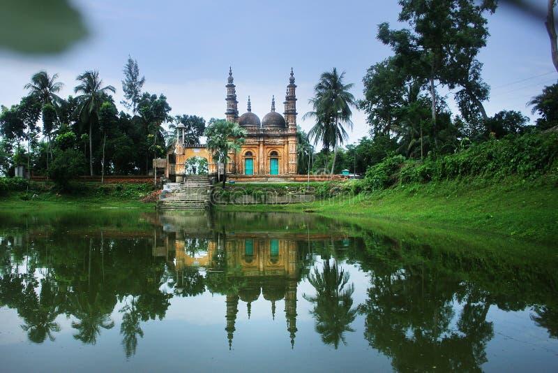 Tetulia Jame Masjid stockbilder