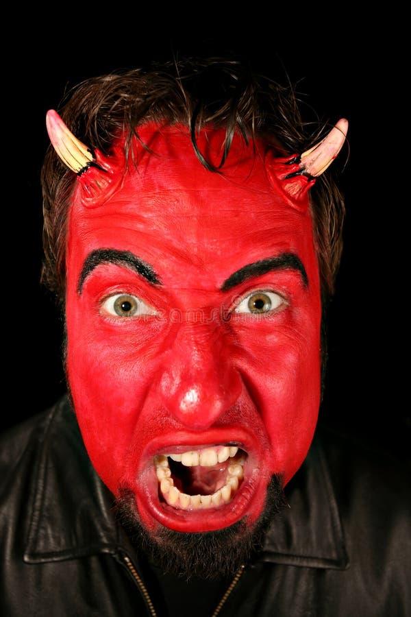 Teufel-Mann lizenzfreie stockfotos