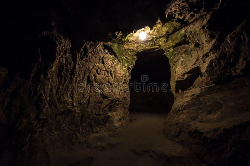 Teufel ` s Kehlhöhle stockfotografie