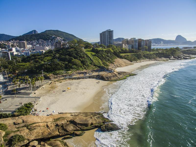 Teufel ` s Strand, Rio de Janeiro Brazil lizenzfreies stockbild