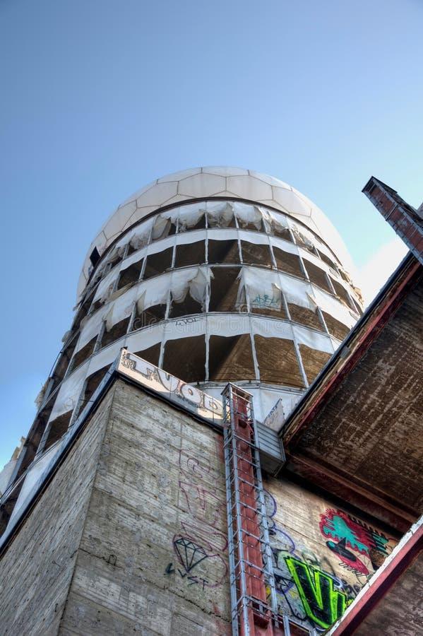 Verlassene Radarstation Teufelsberg Stockfoto - Bild von teufelsberg,  radarstation: 37567238